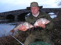 Colin Gilson with his Avon roach brace