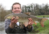 Paul with his barbel