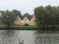 Tipis in the wind