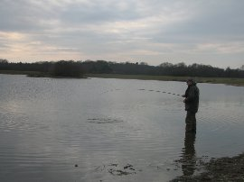 Hame trout fishery