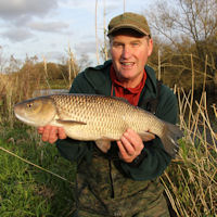 Kenny Parsons with a 6.10 chub