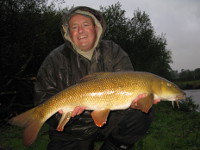 Barbel in the wet