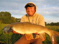 Darrel with a good barbel
