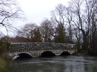 The old bridge at Ringwood