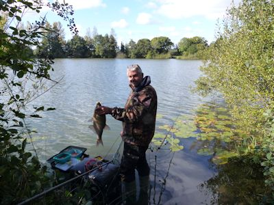 Bream fishing