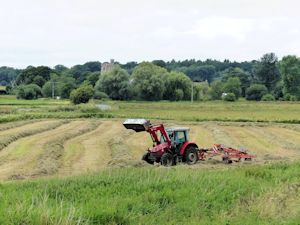 Hay and silage making infull wing